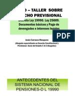 20071206-Curso Taller Derecho Previsional-CSJL Jesus Carrasco Mosquera (1)