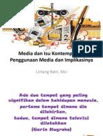 Media Dan Isu Kontemporer - Penggunaan Dan Implikasinya