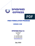 Spesfeed Express Help
