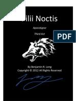 Filii Noctis -- Apocalypse Preview