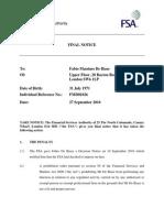 AKO Capital LLP and AKO Master Fund vs TFS Derivatives Limited