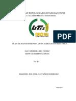 Mantenimiento a Una Subestacion Electrica