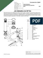 Gato Hidraulico - Problemas y Soluciones