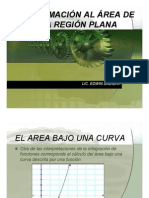 APROXIMACIÓN AL AREA DE UNA REGIÓN PLANA