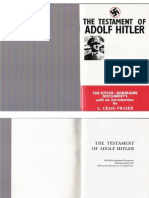 The Testament of Adolf Hitler