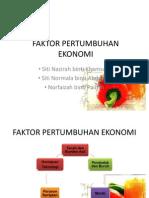 Faktor Pertumbuhan Ekonomi
