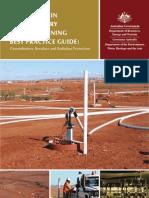 Australia's In Situ Recovery Uranium Mining Best Practice Guide