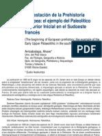 Modelos de Prehistoria Europea