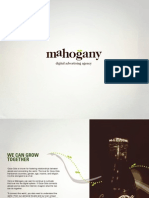 Mahogony Digital Advertising Agency Credentials