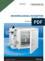 Microbiol Incubators 6000 Imlab