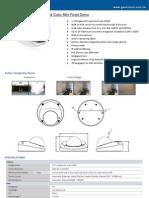 Datasheet IPCamH264Mini