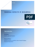 1 - Thermal Effects in Buildings