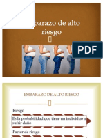 8. Embarazo de Alto Riesgo Expo de Clinicas