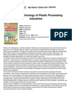 Modern Technology of Plastic Processing Industries