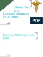 Premio Nobel De medicina y avances médicos en el 2001