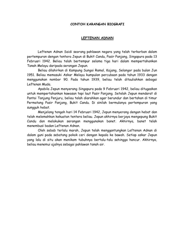 Contoh Autobiografi Chairul Tanjung - Contoh Bu