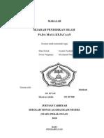 Makalah 7 (Sejarah Pendidikan Islam Pada Masa Penjajahan Belanda)