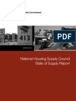 National Housing Supply Council Report Dec 2011