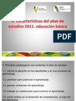 II Caracteristicas Del Plan de Estudios 2011
