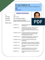 Dr. Camad Ali GUI Profile