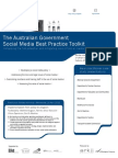 The Australian Government Social Media Best Practice Toolkit