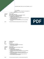 Contoh Rancangan Harian Tahun 4 SJK