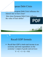 European Debt Crisis PPT @ BECDOMS