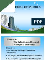 Managerial Economics Ppt @ Bec-doms