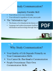 Why Study Communication Ppt @ BEC-DOMS