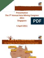 Kimberly Metals_asia Mining Congress
