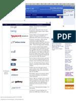 Web Search Engine List