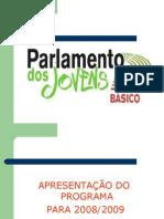 Parlamento dos Jovens - EB Vizela 2009