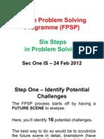 FPSP Six Steps in Problem Solving