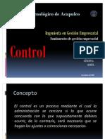Presentacion Control de Fundamentos de Gestion Empresarial