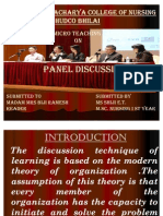 Panel Discussion Ppt