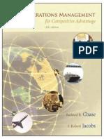 Operations Management for Competitive Advantage, 11e