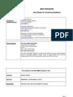 HEC Fact Sheet