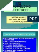 (2) Arc Welding Electrode