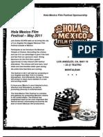 Hola Film Festival General Proposal