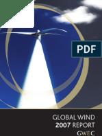 03GWEC - Global Wind 2007