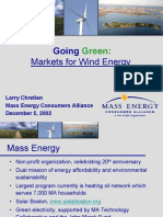 4 Chretian Markets for Wind Energy