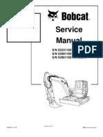 8612958-Bobcat 442 Mini Excavator Service Repair Manual Download S N 522311001 Above S N 528911001 Above S N 528611001 Above
