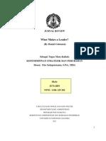 What Makes a Leader - JUNAIDI