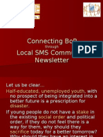 Local SMS Community Newsletter