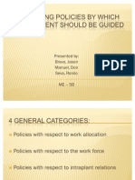 Operating Policies by Which Management Should Be Guided (Bravo, Manuel, Seva, Ronilo)