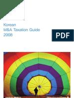 Korean M&a Taxation Guide