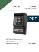 TA520 Manual