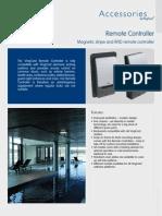 Remote Controller English Datasheet