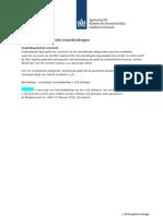 Overzicht categorieën basisbedragen SDE 2012