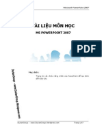 Giao Trinh Power Point 2007